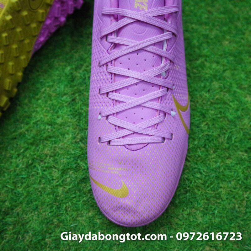 Giay Nike Mercurial vapor 13 Academy TF hong (7)