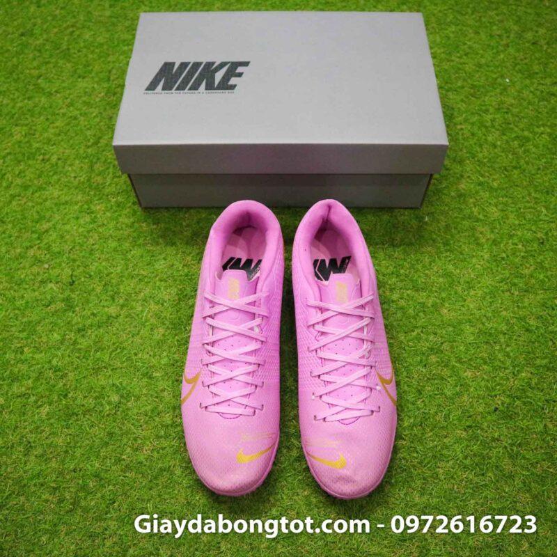 Giay Nike Mercurial vapor 13 Academy TF hong (8)