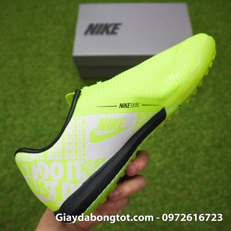 Giay da banh Nike Phantom VNM Zoom Pro TF xanh non chuoi (1)