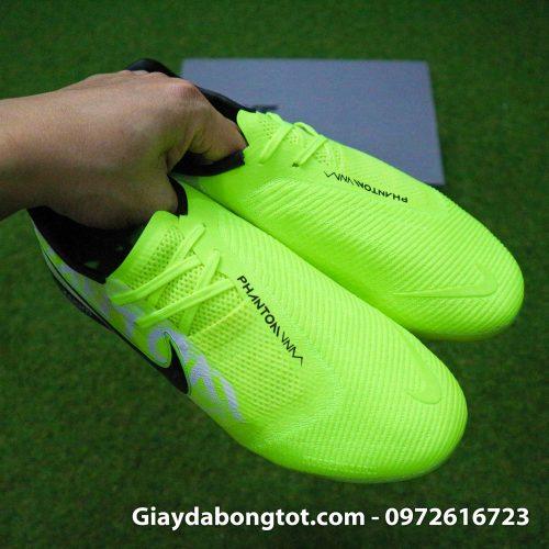 Giay da banh Nike Phantom VNM Zoom Pro TF xanh non chuoi (12)