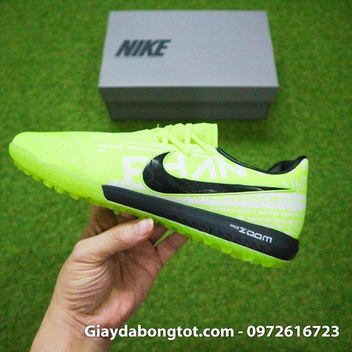 Giay da banh Nike Phantom VNM Zoom Pro TF xanh non chuoi (14)
