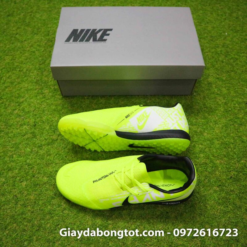 Giay da banh Nike Phantom VNM Zoom Pro TF xanh non chuoi (2)