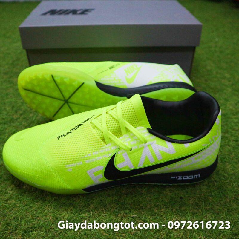 Giay da banh Nike Phantom VNM Zoom Pro TF xanh non chuoi (3)