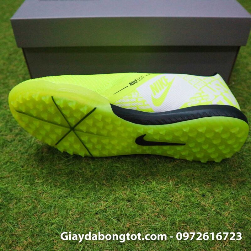 Giay da banh Nike Phantom VNM Zoom Pro TF xanh non chuoi (4)