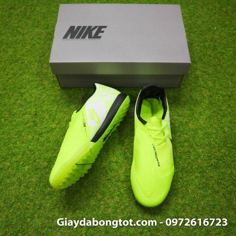 Giay da banh Nike Phantom VNM Zoom Pro TF xanh non chuoi (5)