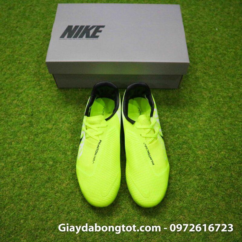 Giay da banh Nike Phantom VNM Zoom Pro TF xanh non chuoi (8)