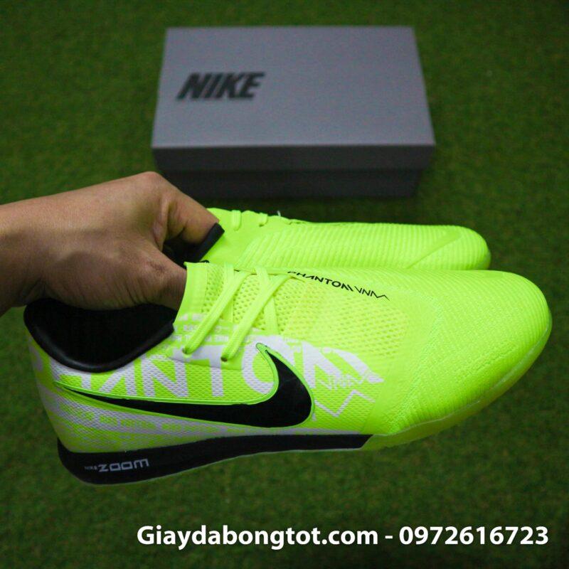 Giay da banh Nike Phantom VNM Zoom Pro TF xanh non chuoi (9)