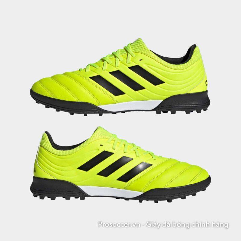 Giay da bong Adidas Copa 19.3 TF mau vang chuoi (10)