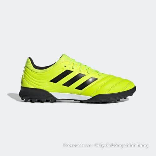 Giay da bong Adidas Copa 19.3 TF mau vang chuoi (3)