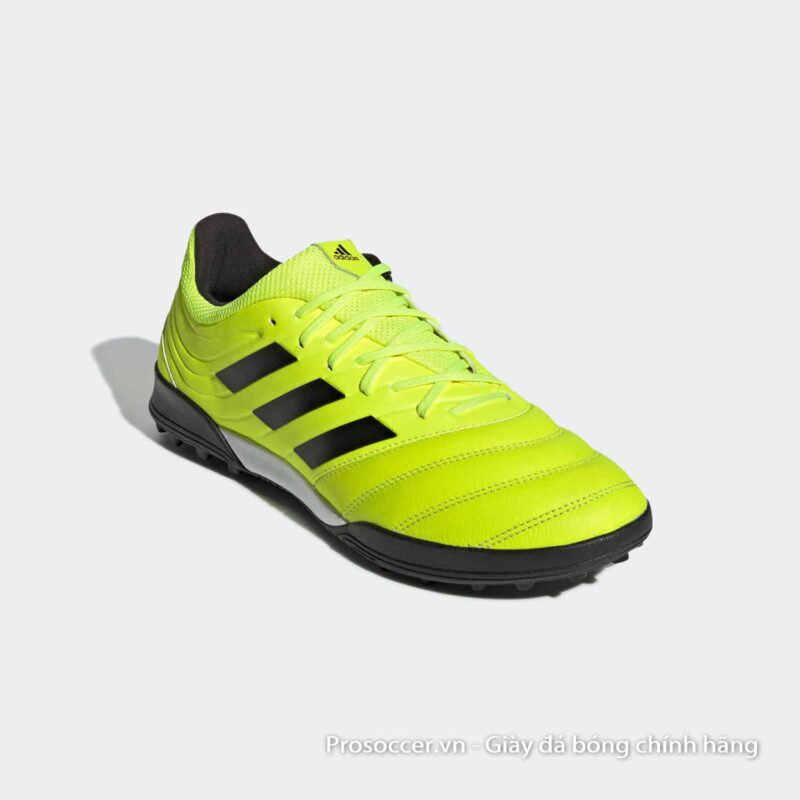 Giay da bong Adidas Copa 19.3 TF mau vang chuoi (8)