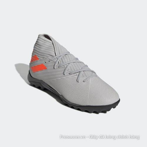 Giay da bong chinh hang Adidas Nemeziz 19.3 TF xam vach cam (5)