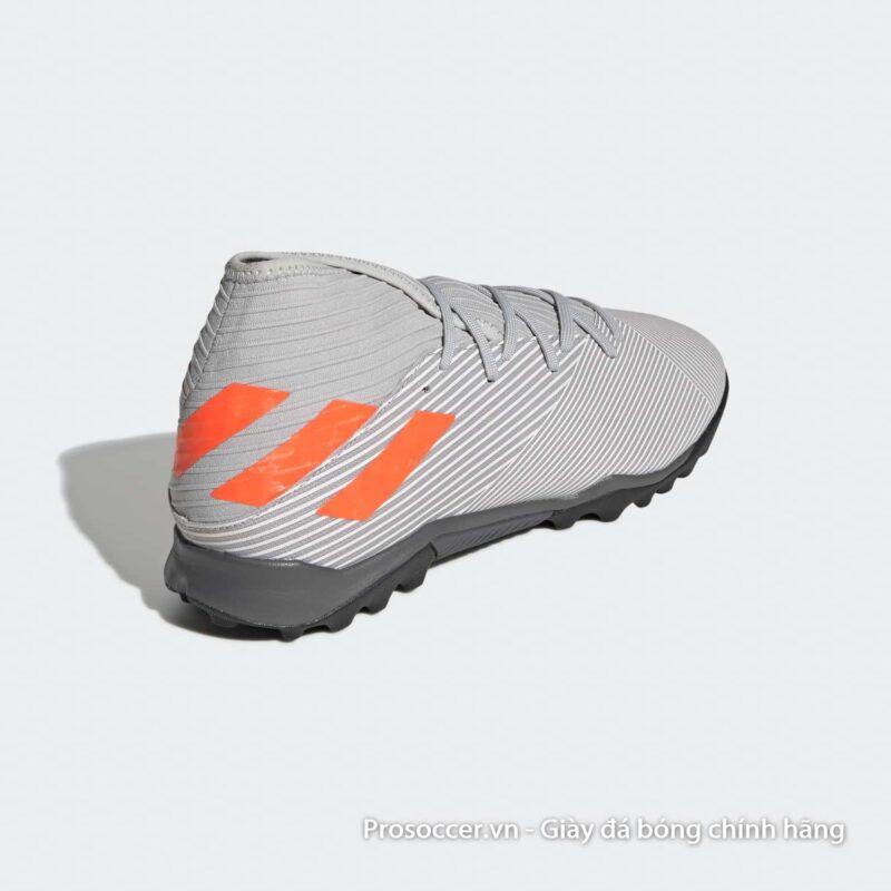 Giay da bong chinh hang Adidas Nemeziz 19.3 TF xam vach cam (6)