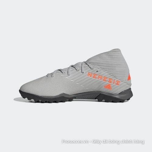 Giay da bong chinh hang Adidas Nemeziz 19.3 TF xam vach cam (7)