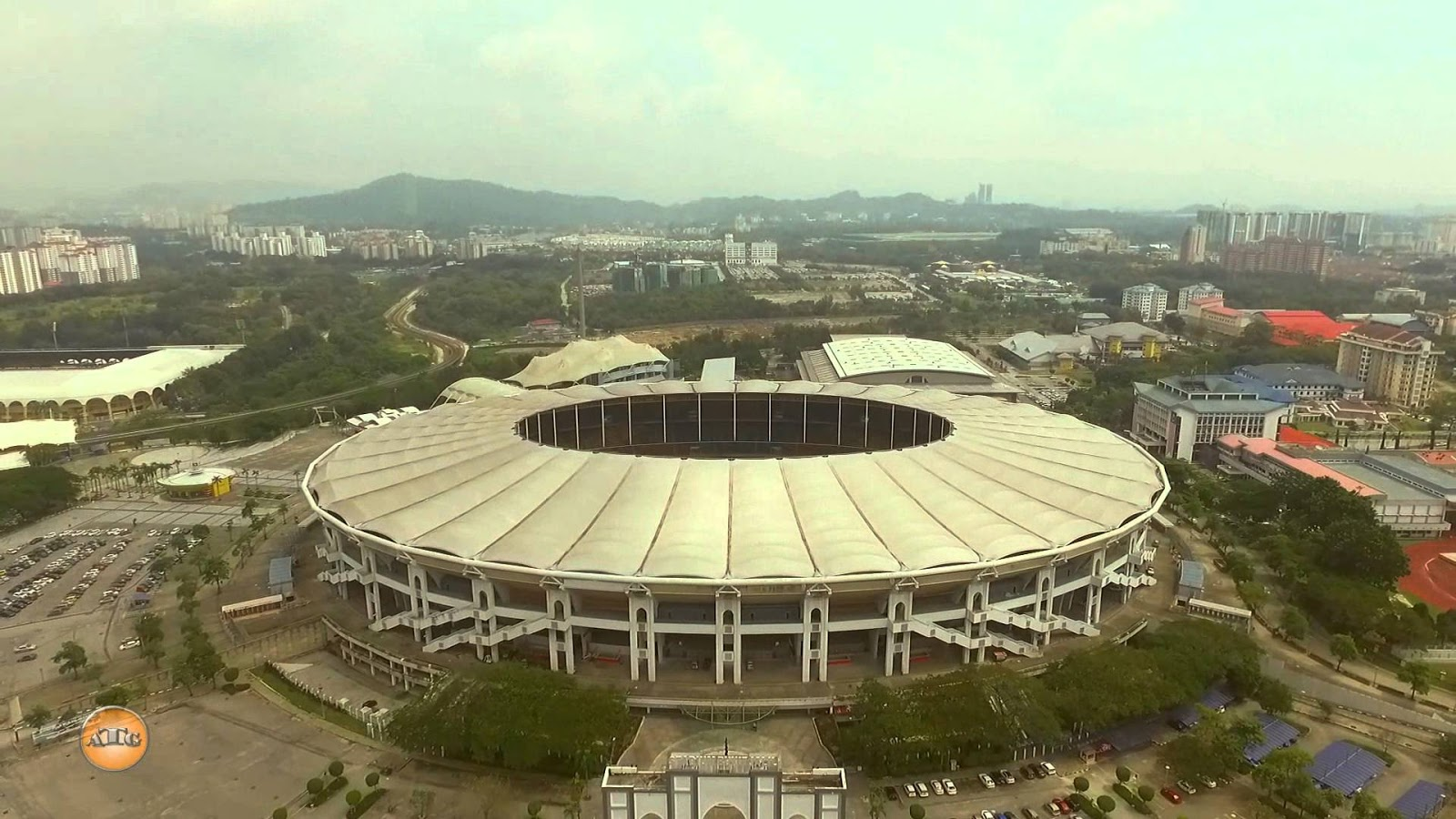 Chảo lửa Bukit Jalil của Malaysia là một trong top 10 sân bóng đá lớn nhất thế giới