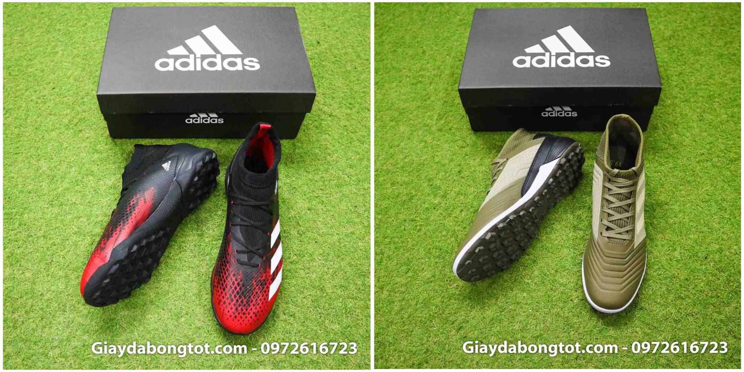Adidas Predator 20.3 TF có da giày khác với Predator 19.3 TF