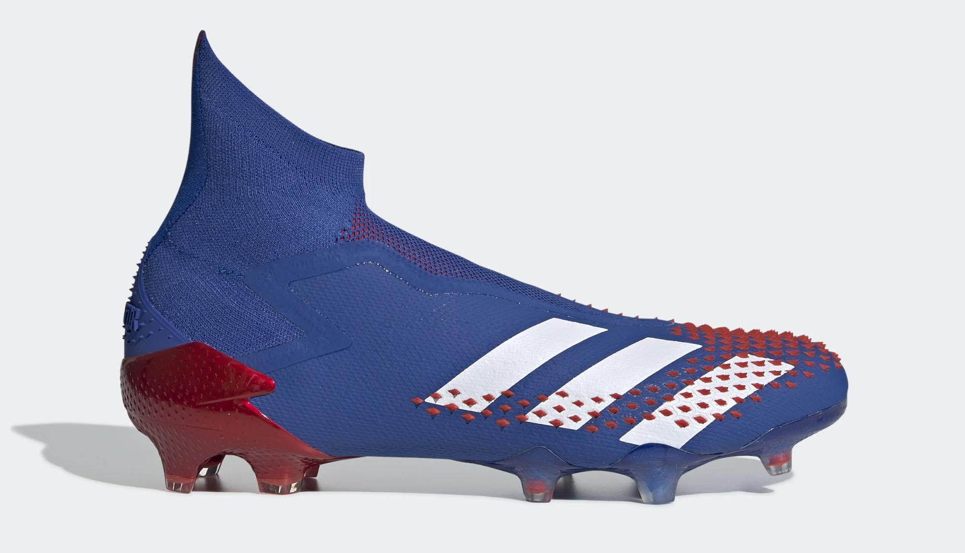 Phiên bản giày bóng đá Adidas Predator 20+ không dây Top-End được sử dụng bởi các cầu thủ chuyên nghiệp