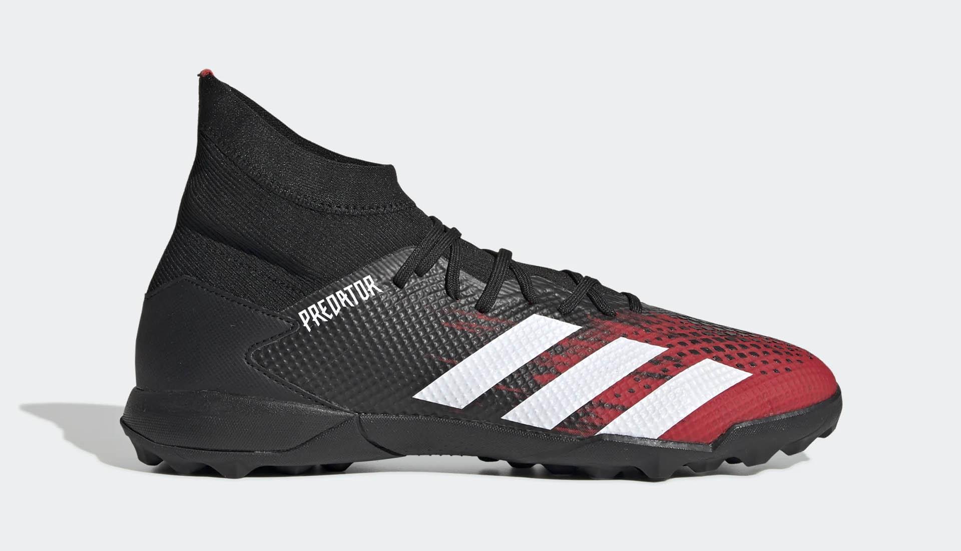 Giày Adidas Predator 20.3 TF đen đỏ chính hãng