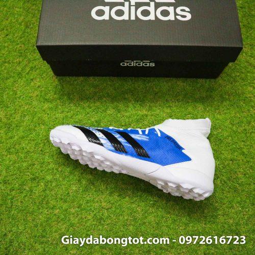 Giay Adidas Predator 20.3 TF trang xanh vach den (10)