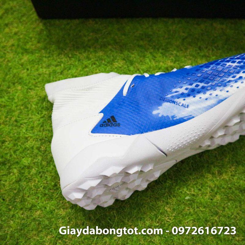 Giay Adidas Predator 20.3 TF trang xanh vach den (12)