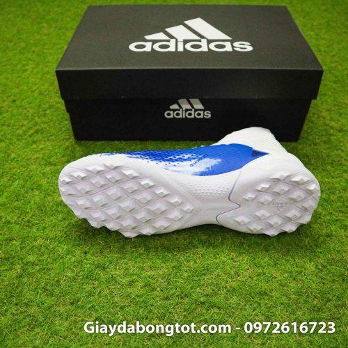 Giay Adidas Predator 20.3 TF trang xanh vach den (4)