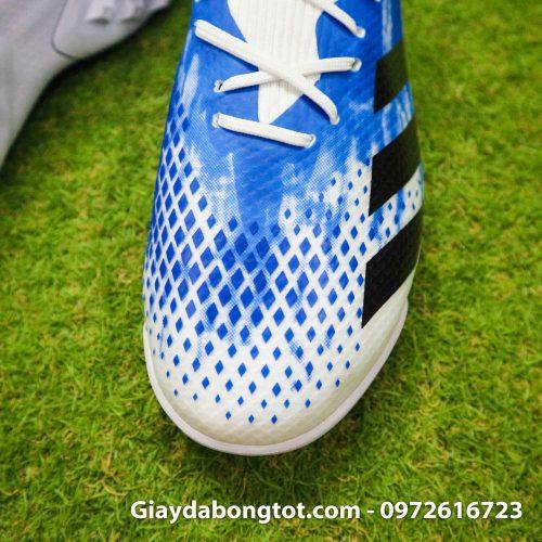 Giay Adidas Predator 20.3 TF trang xanh vach den (6)