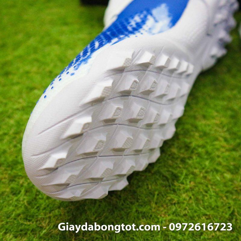 Giay Adidas Predator 20.3 TF trang xanh vach den (7)