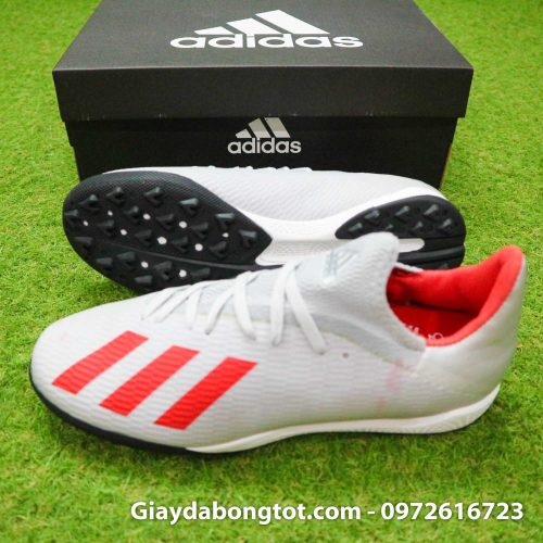 Giay Adidas X19.3 TF xam vach do SF (3)
