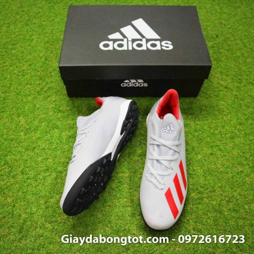 Giay Adidas X19.3 TF xam vach do SF (5)