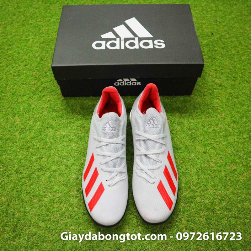Giay Adidas X19.3 TF xam vach do SF (8)