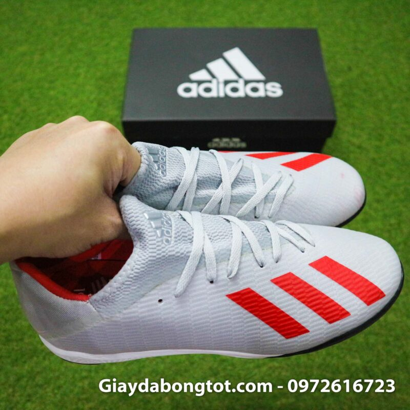 Giay Adidas X19.3 TF xam vach do SF (9)