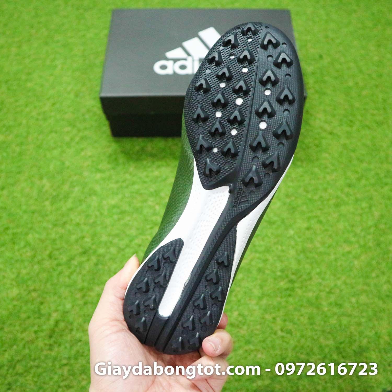 Giay Adidas X19.3 TF xanh reu vach cam SF (1)