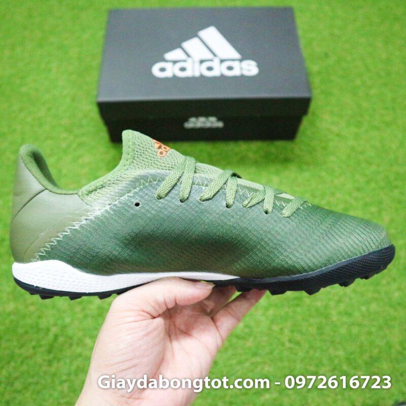 Giay Adidas X19.3 TF xanh reu vach cam SF (11)