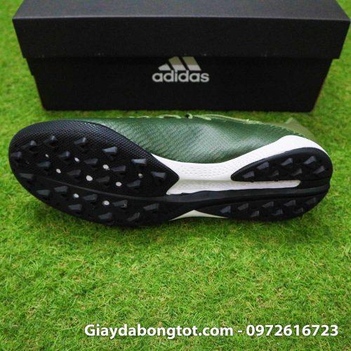 Giay Adidas X19.3 TF xanh reu vach cam SF (4)