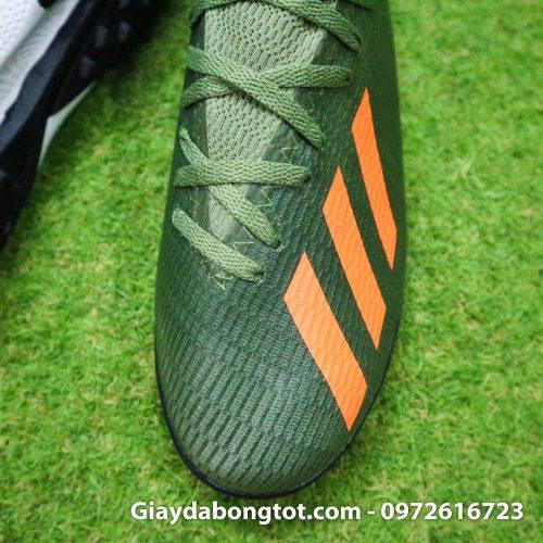 Giay Adidas X19.3 TF xanh reu vach cam SF (7)