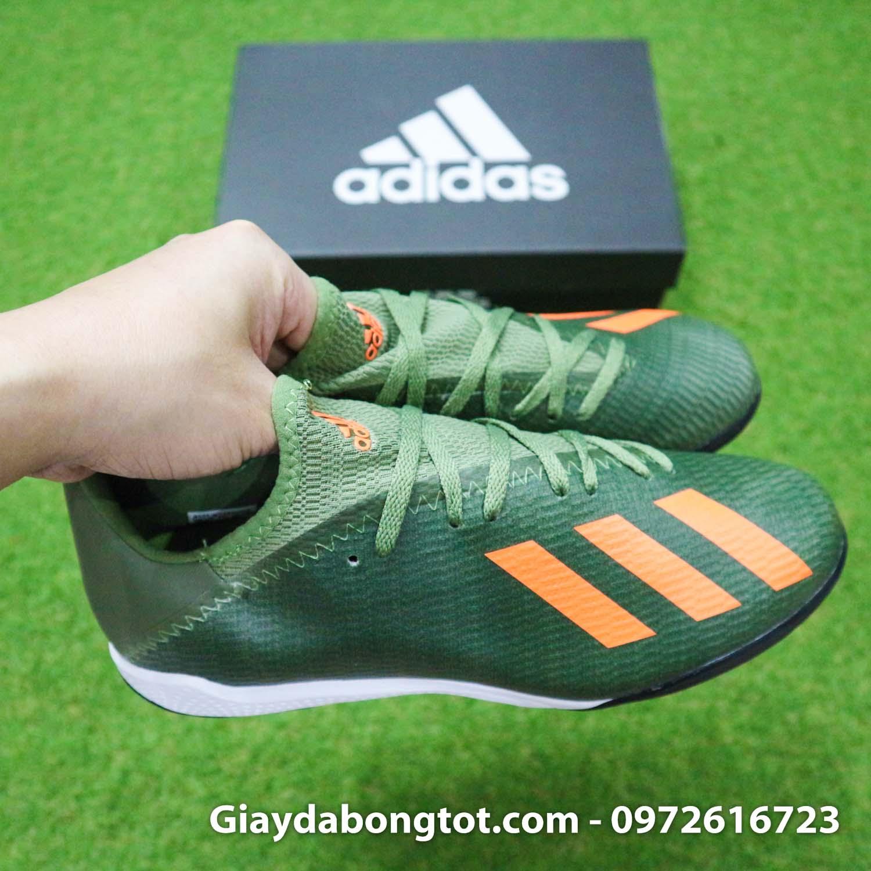 Giay Adidas X19.3 TF xanh reu vach cam SF (9)