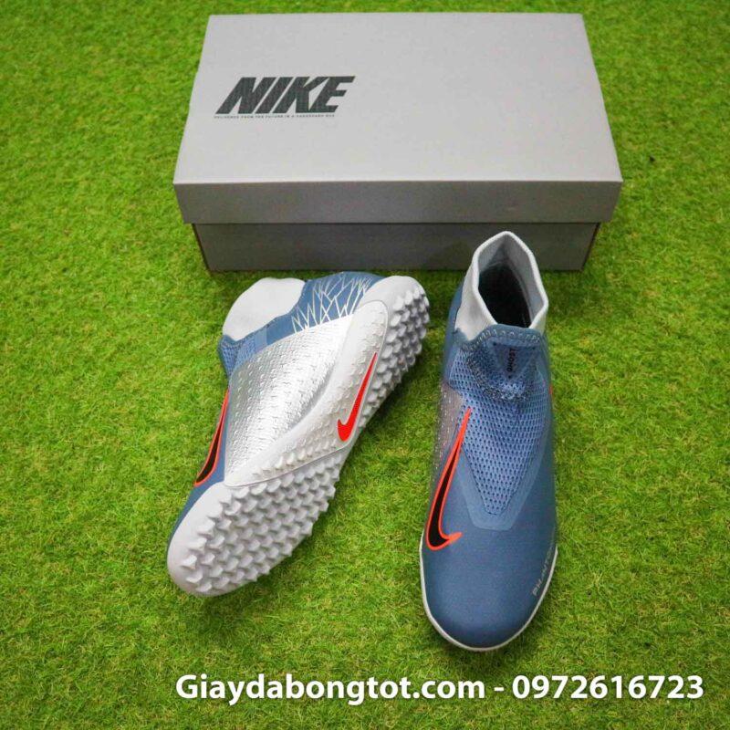 Giay Nike Phantom VSN Academy DF TF xam Victory (5)