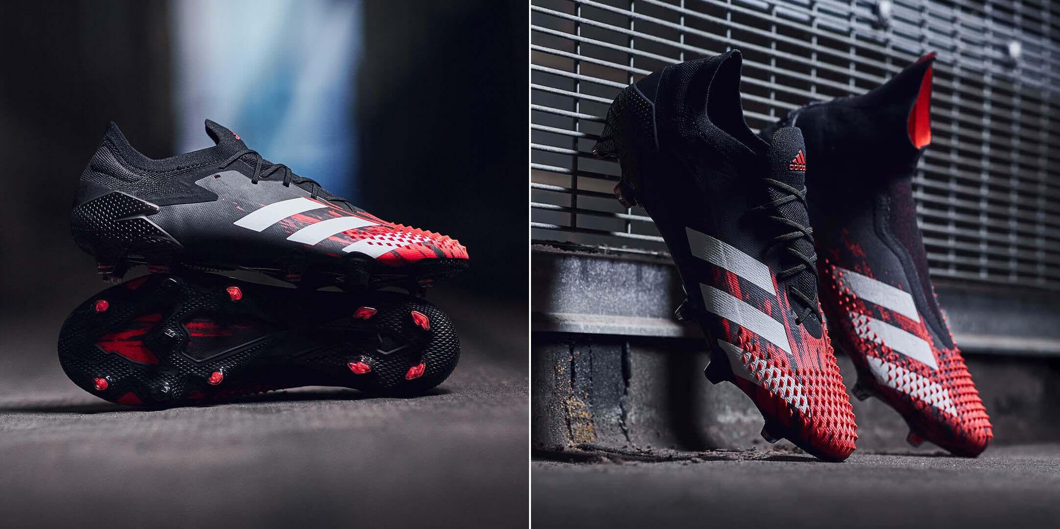 Adidas Predator 20+ cổ cao và Adidas Predator 20.1 bản không cổ