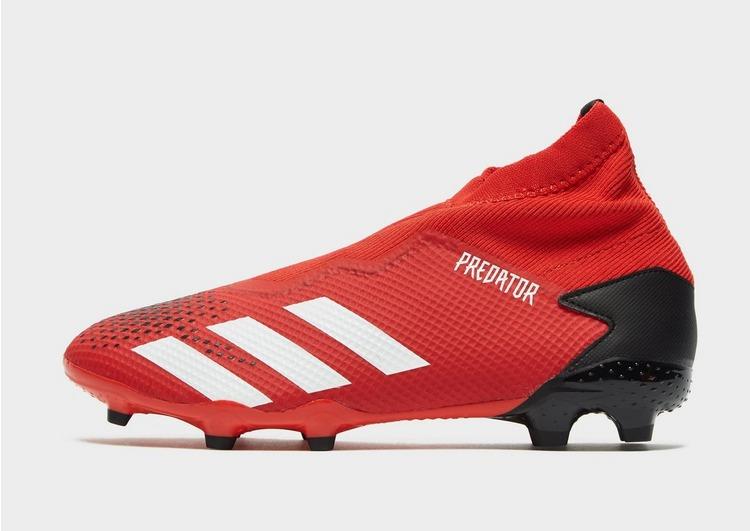 Giày Adidas không dây phân khúc Mid-End Adidas Predator 20.3 FG Laceless