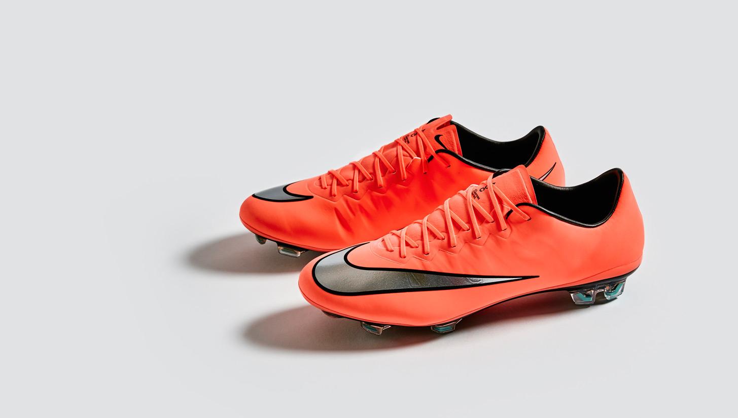 Giày bóng đá Nike Mercurial Vapor 10 (X) được ra mắt tại Worldcup 2014