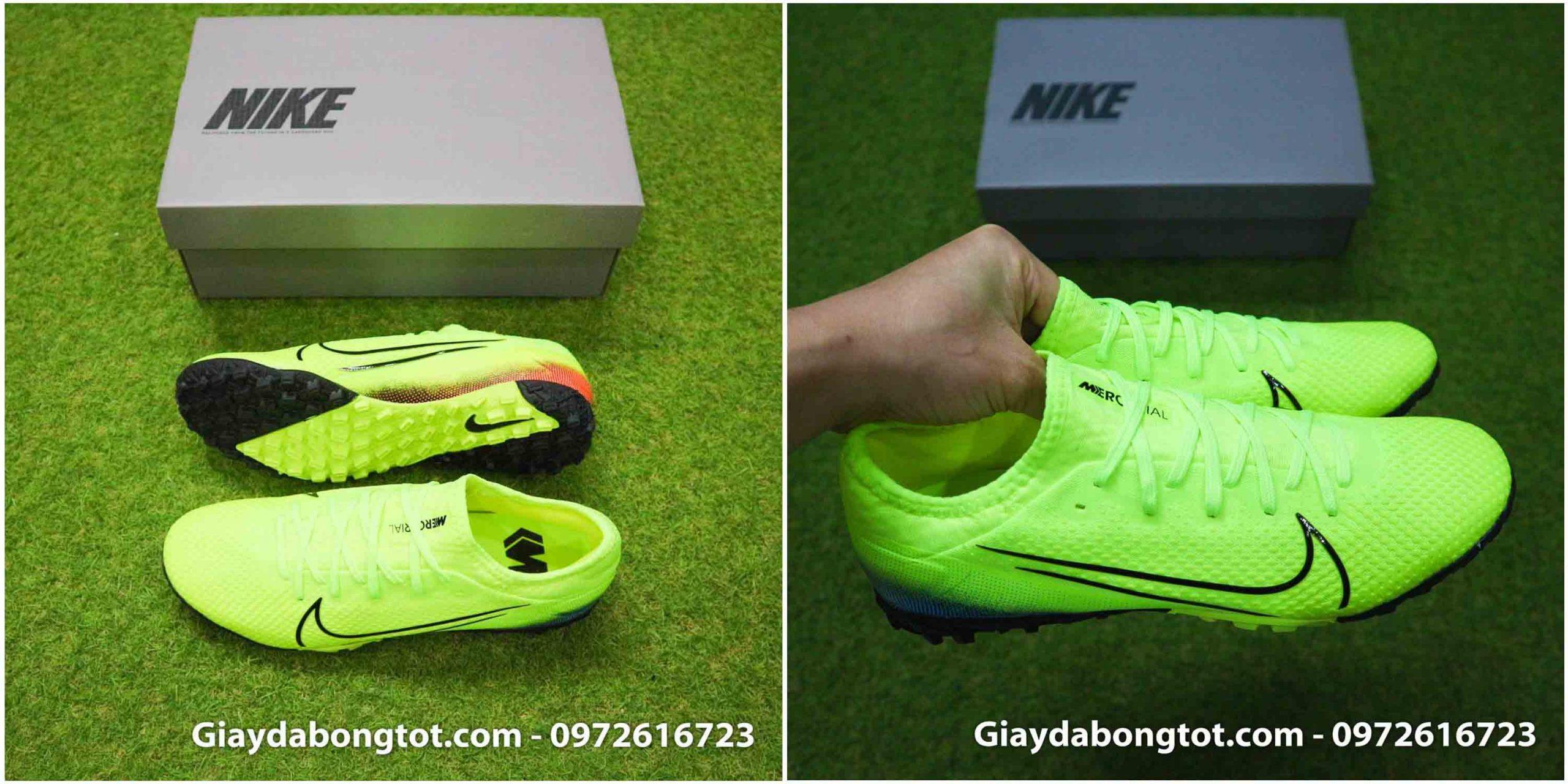 Giày bóng đá CR7 Vapor 13 Pro TF Dream Speed 2 màu vàng chuối