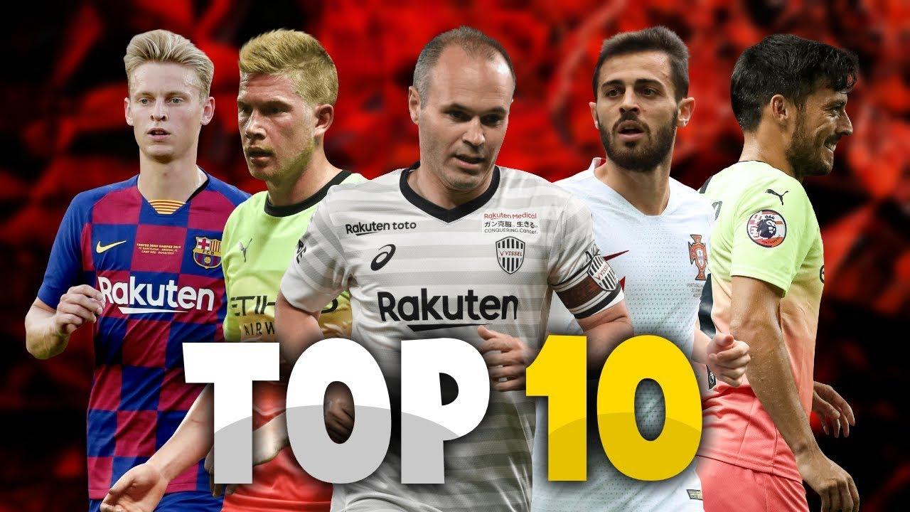 Giày đá bóng của top 10 tiền vệ chơi hay nhất thế giới trong mùa giải 2019-2020