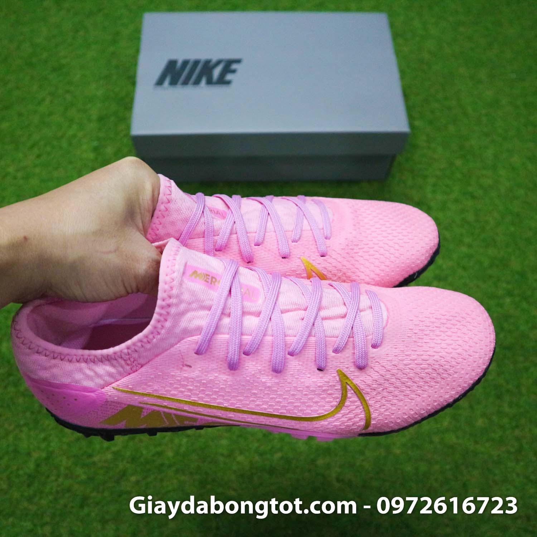 Giay da bong mau hong Nike Mercurial Vapor 13 Pro TF (10)