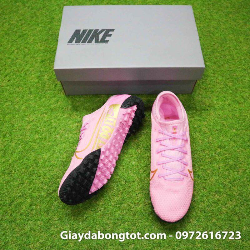 Giay da bong mau hong Nike Mercurial Vapor 13 Pro TF (5)
