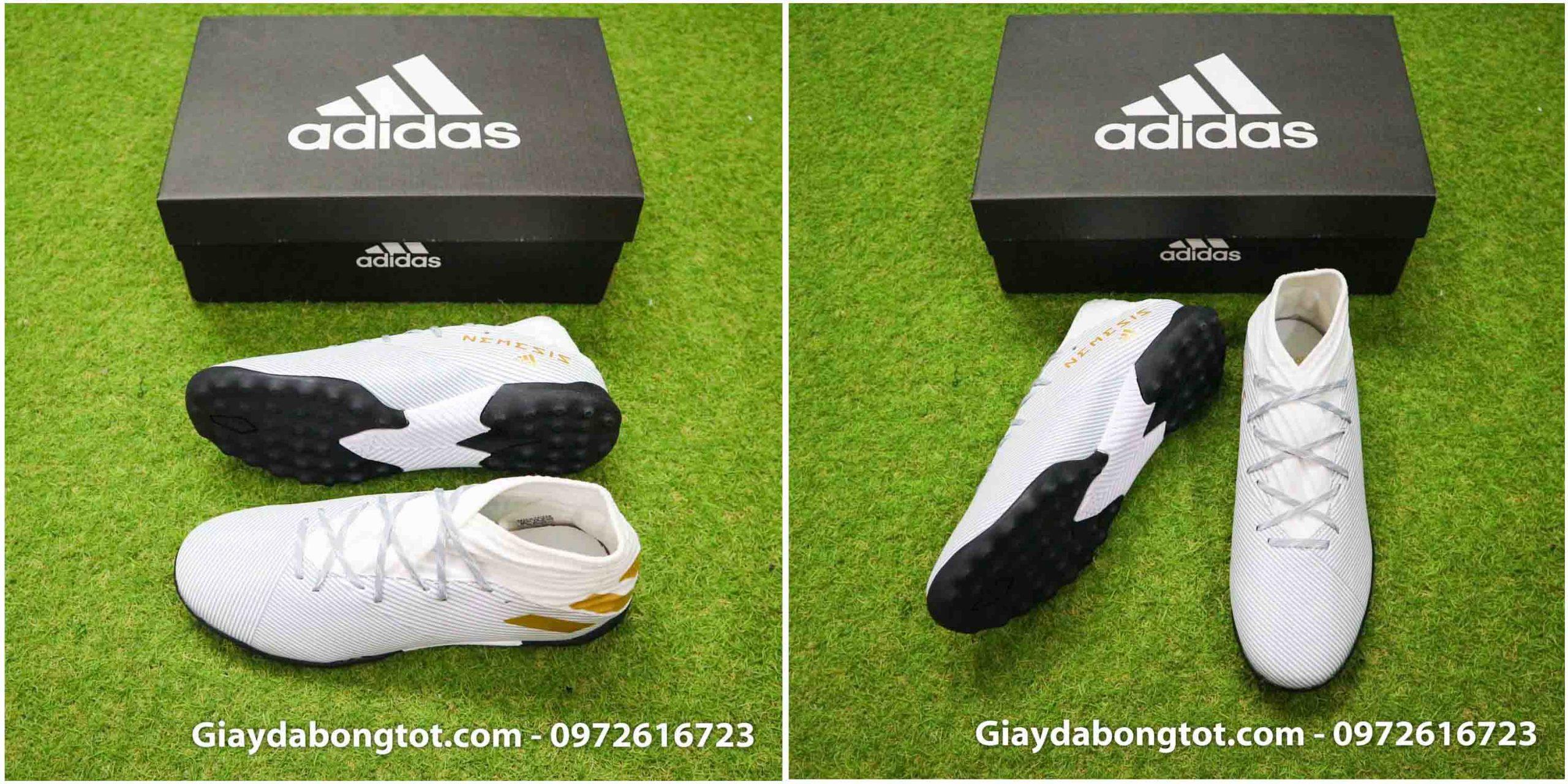 Phiên bản Adidas Nemeziz 19.3 TF bản cổ cao cũng có form giày thoải mái
