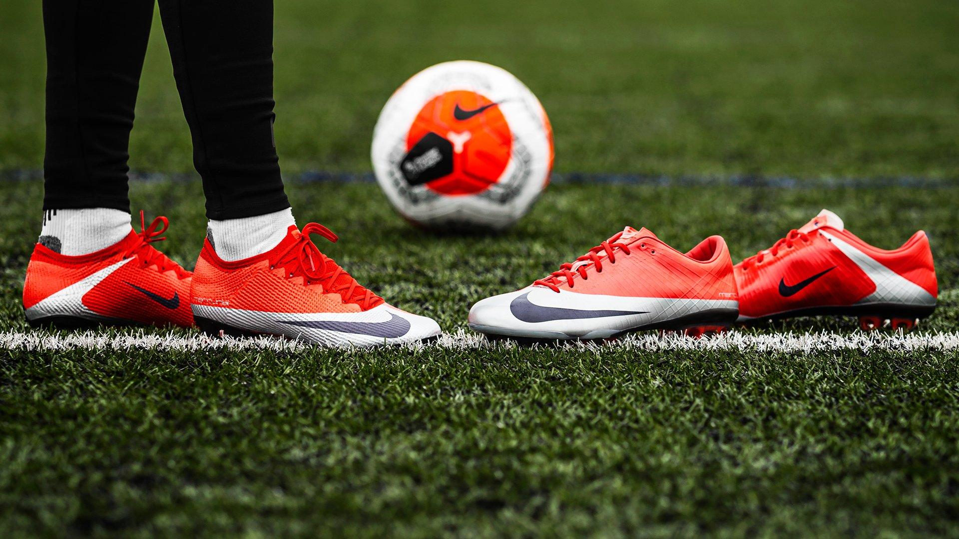 Top 5 phiên bản mới nhất của giày đá bóng Nike Mercurial Vapor