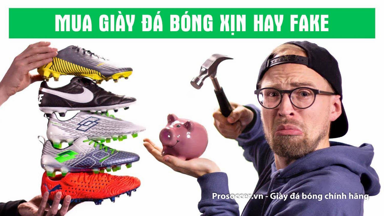 So sánh giữa giày đá bóng Adidas Predator 20.3 TF xịn và fake