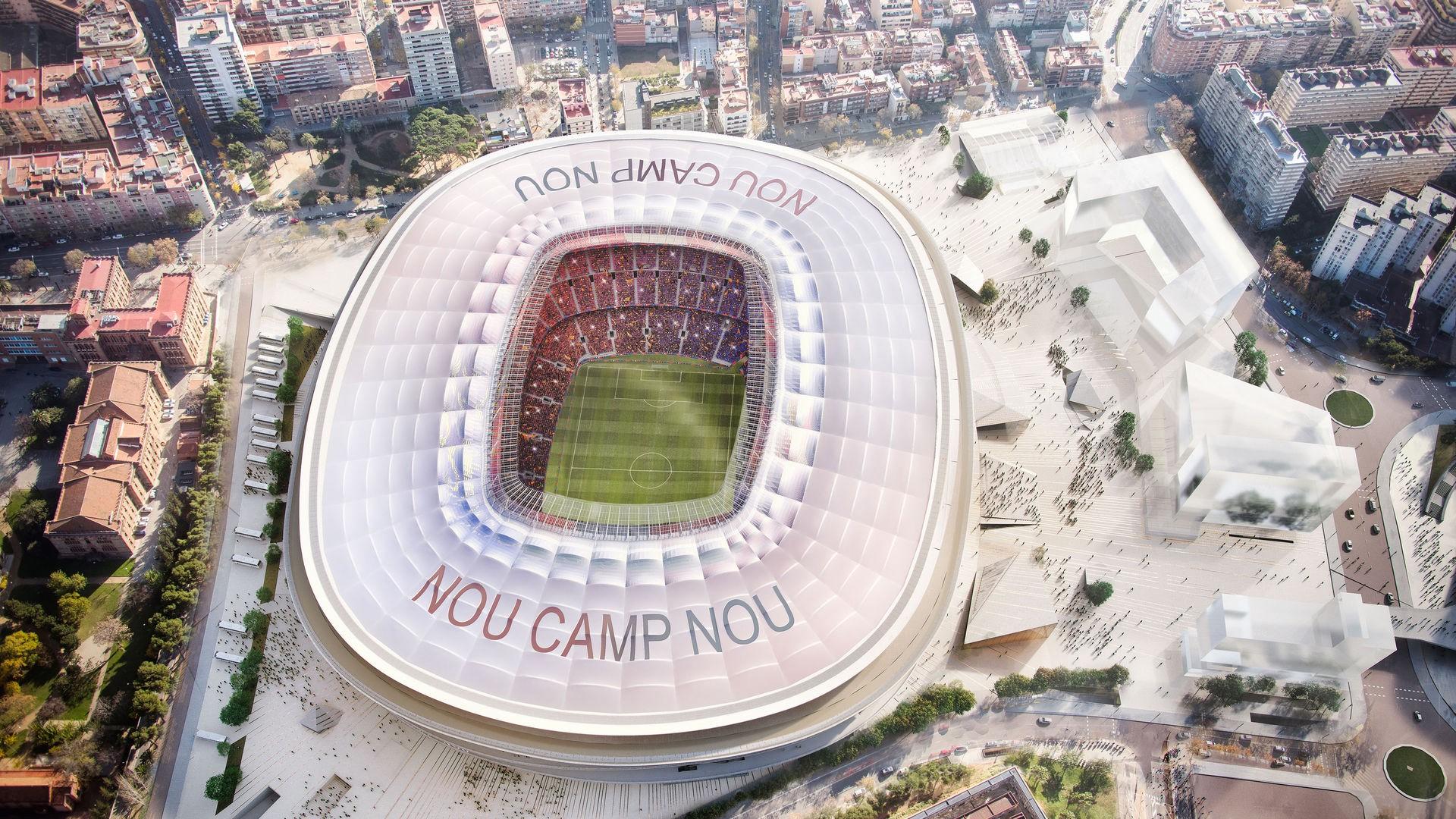 Sân nhà của CLB Barcelon là Nou Camp có sức chứa rất lớn