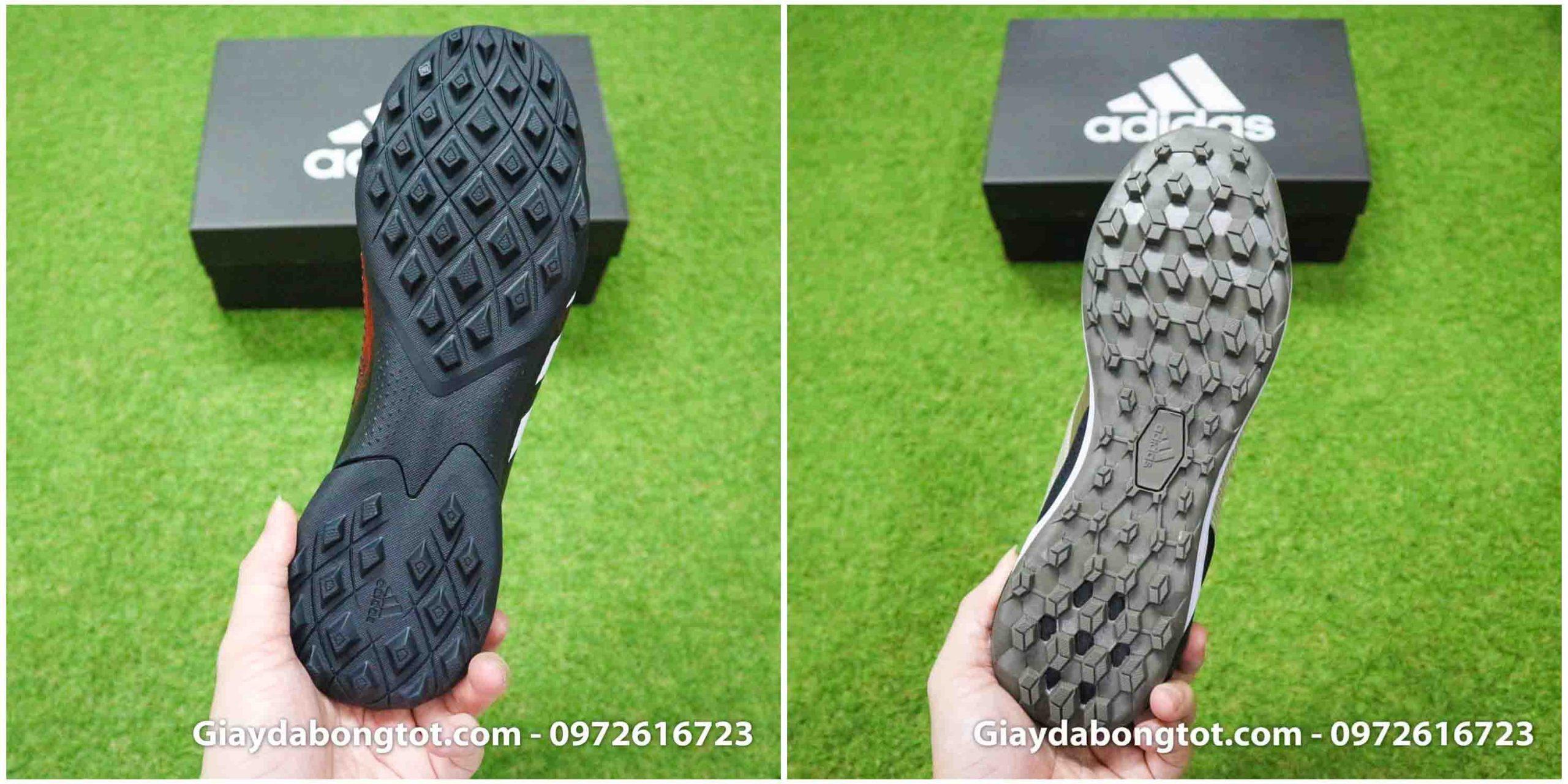Thiết kế đế giày đá bóng Adidas Predator 20.3 TF và 19.3 TF