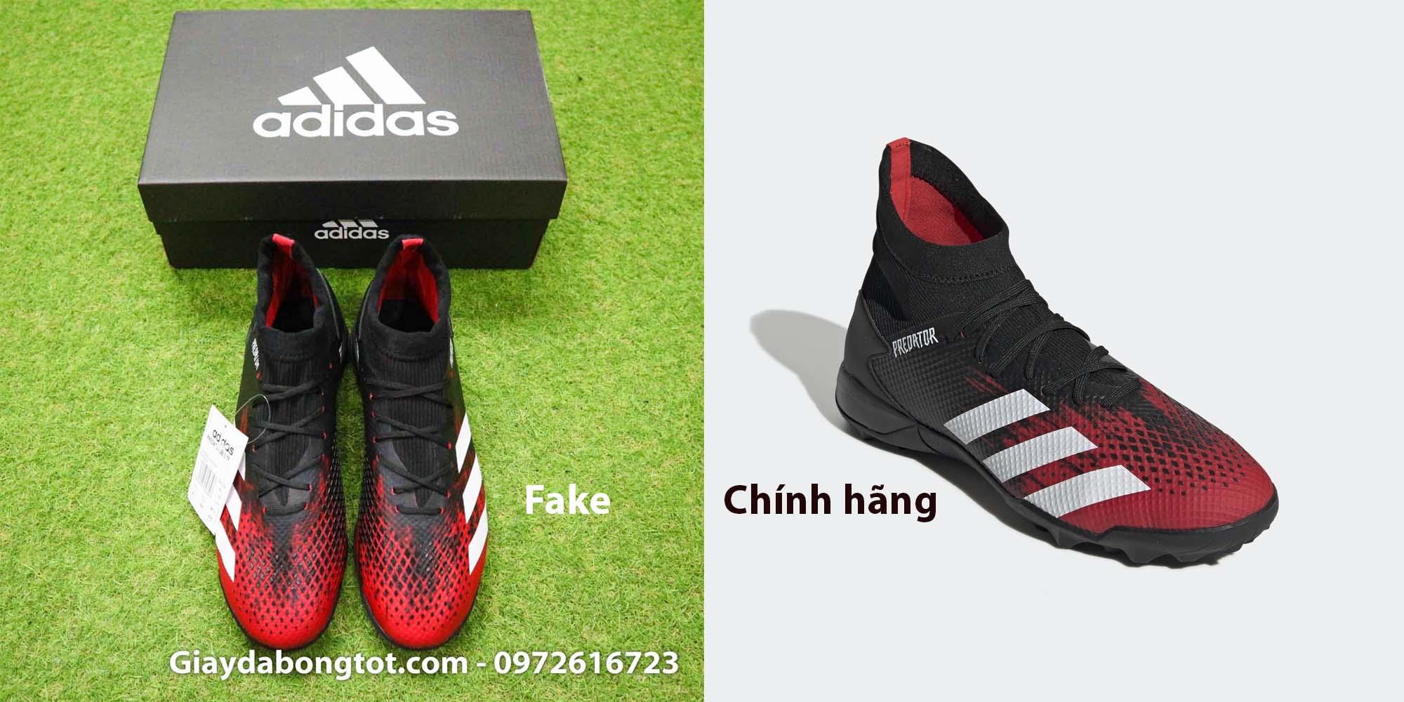 Giày đá bóng Adidas Predator 20.3 TF Fake được làm rất giống giày chính hãng