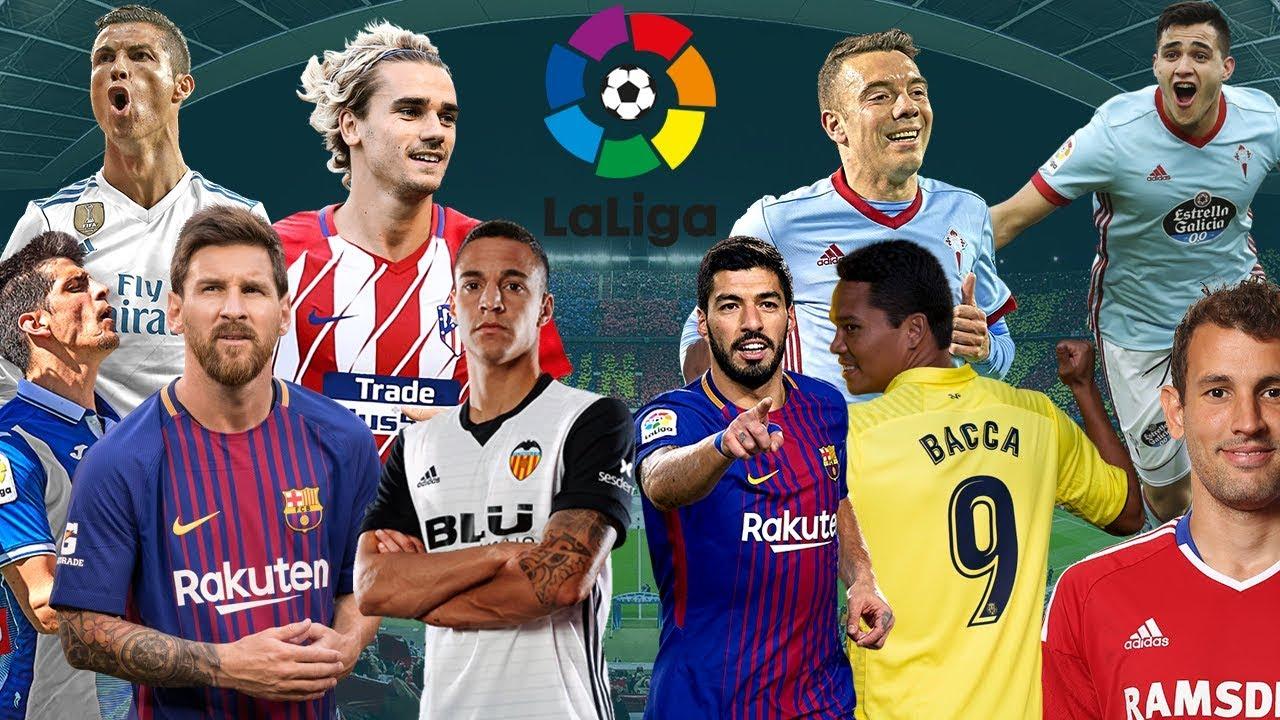 Top 5 dòng giày đá bóng được các cầu thủ tại La Liga sử dụng nhiều nhất